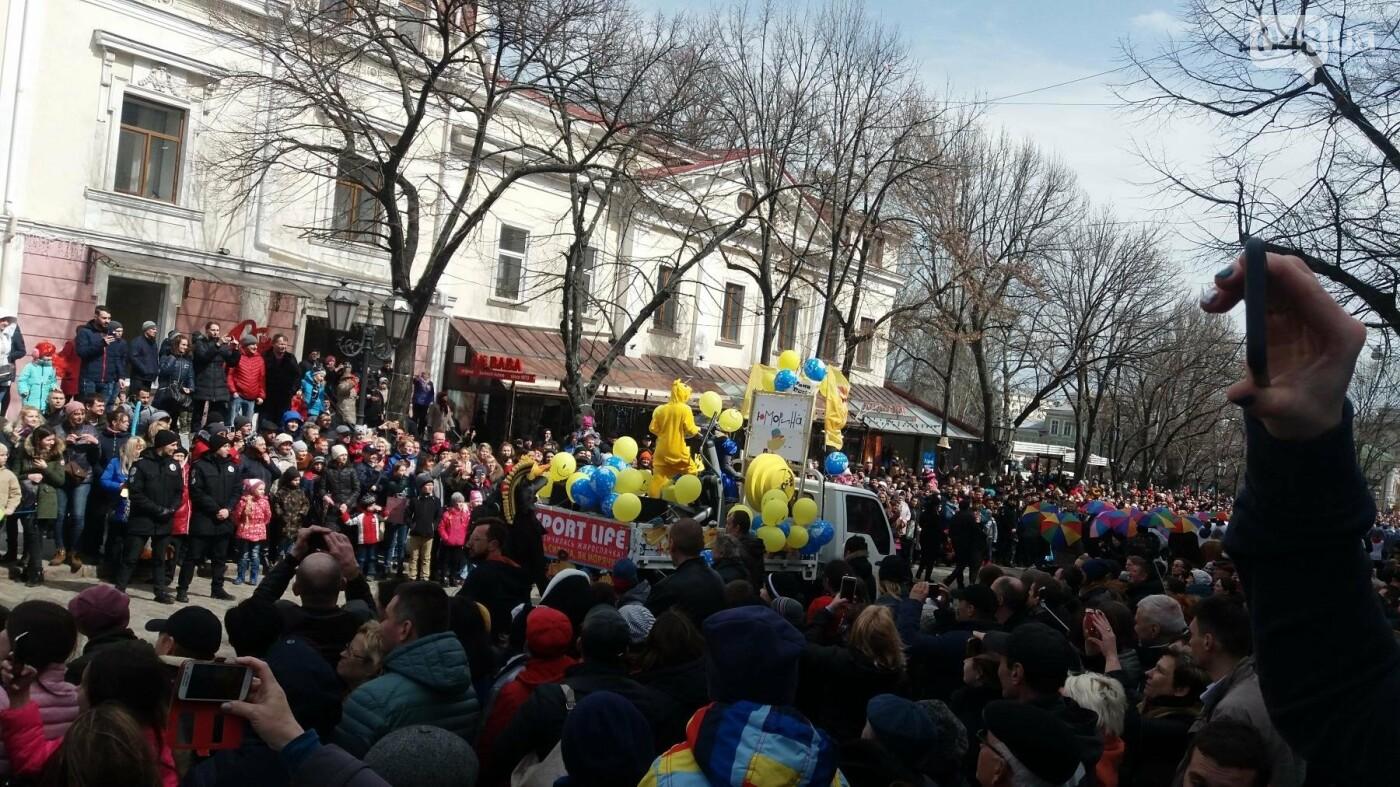 Юморина в разгаре: По Дерибасовской прошел парад-карнавал (ФОТО, ВИДЕО), фото-14