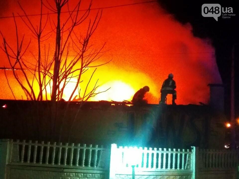 Из-за пожара на Николаевской дороге полиция сузила дорогу с одесского поселка Котовского в центр (ФОТО, ВИДЕО), фото-6