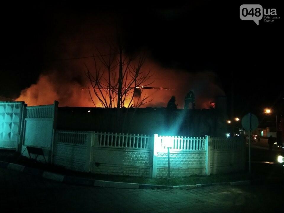Из-за пожара на Николаевской дороге полиция сузила дорогу с одесского поселка Котовского в центр (ФОТО, ВИДЕО), фото-5