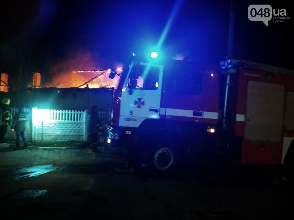 Из-за пожара на Николаевской дороге полиция сузила дорогу с одесского поселка Котовского в центр (ФОТО, ВИДЕО), фото-2