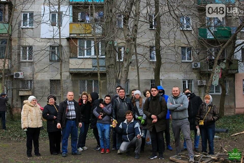 Активисты нашли интересный способ защитить одесские деревья от незаконной вырубки (ФОТО), фото-8