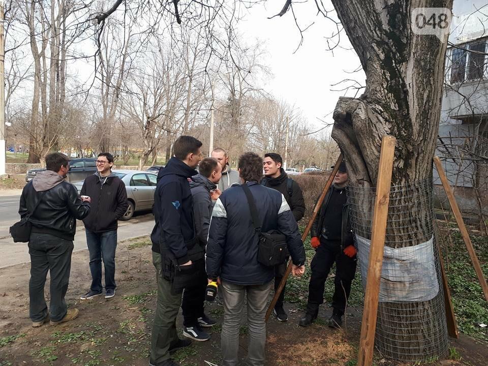Активисты нашли интересный способ защитить одесские деревья от незаконной вырубки (ФОТО), фото-14