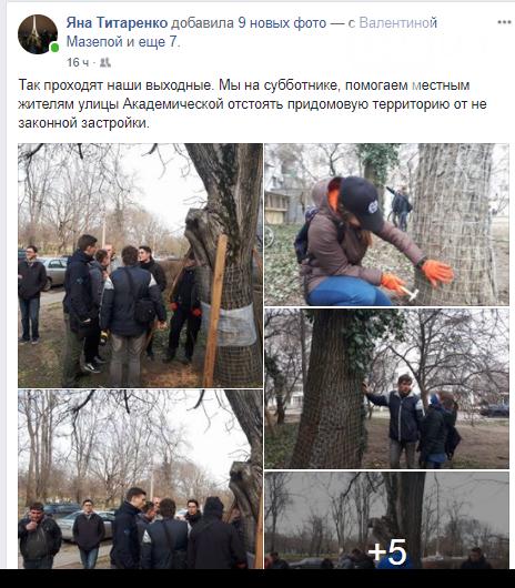 Активисты нашли интересный способ защитить одесские деревья от незаконной вырубки (ФОТО), фото-3