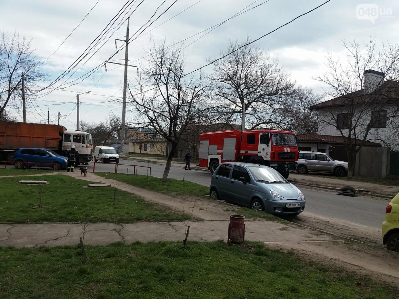 В Одессе горел балкон девятиэтажного дома (ФОТО, ВИДЕО), фото-5