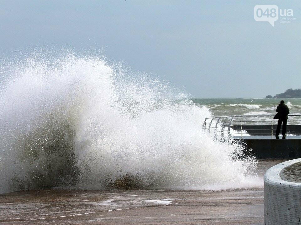Мощный первоапрельский шторм попал в объектив одесского фотографа (ФОТО), фото-6