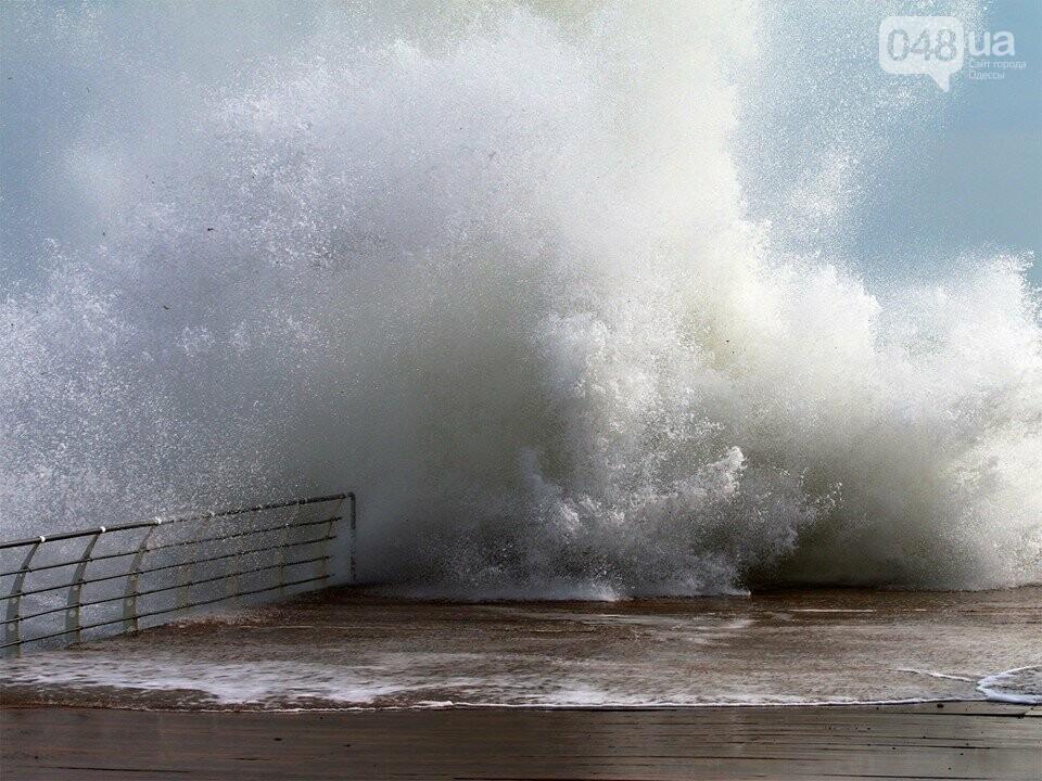 Мощный первоапрельский шторм попал в объектив одесского фотографа (ФОТО), фото-7