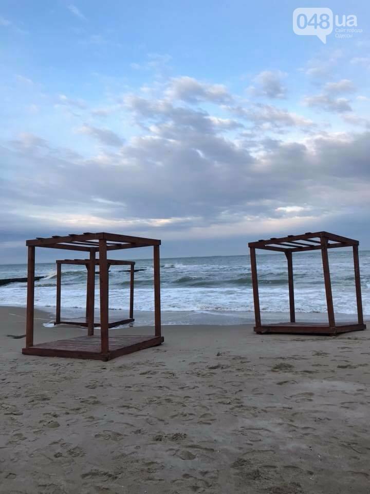 Красота: Море, небо и геометрия на одесском пляже (ФОТО) , фото-2