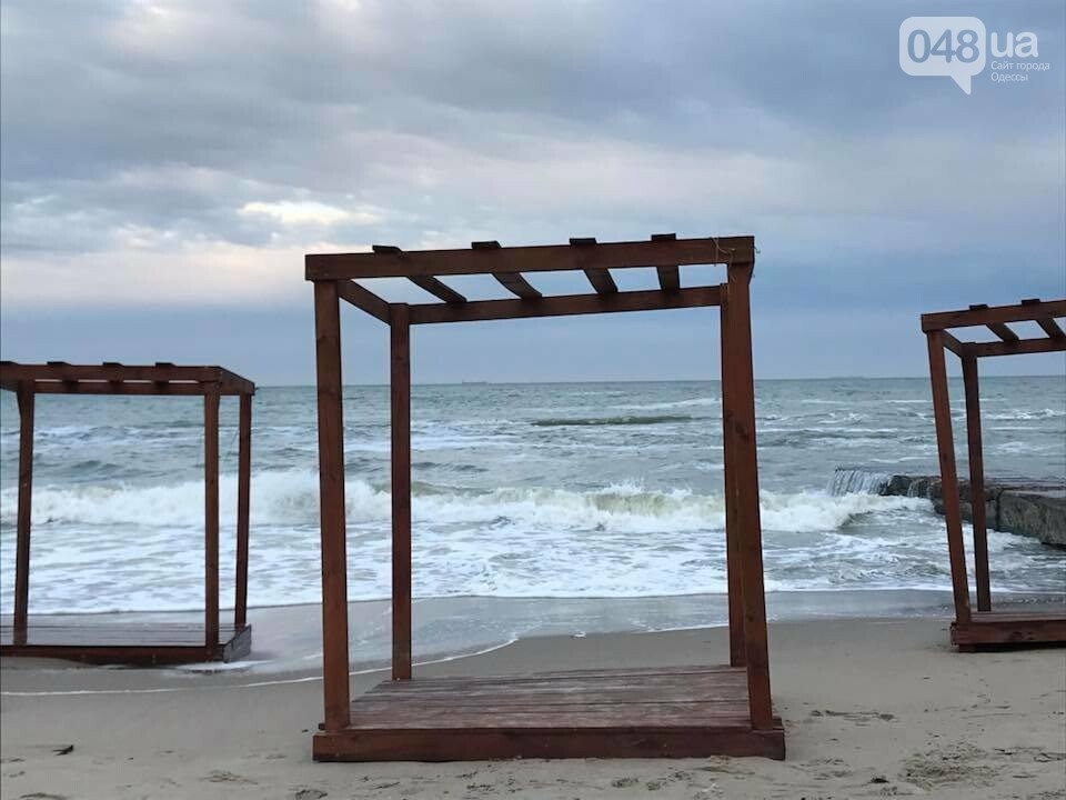 Красота: Море, небо и геометрия на одесском пляже (ФОТО) , фото-4