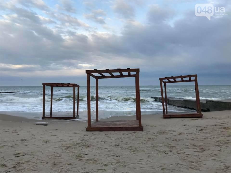 Красота: Море, небо и геометрия на одесском пляже (ФОТО) , фото-5