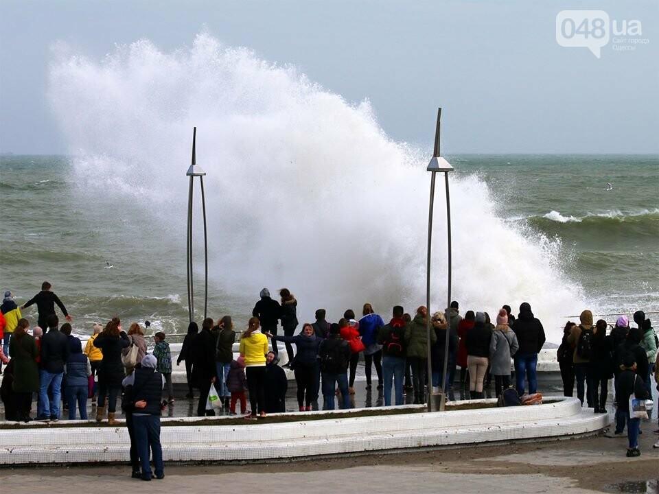 Мощный первоапрельский шторм попал в объектив одесского фотографа (ФОТО), фото-1