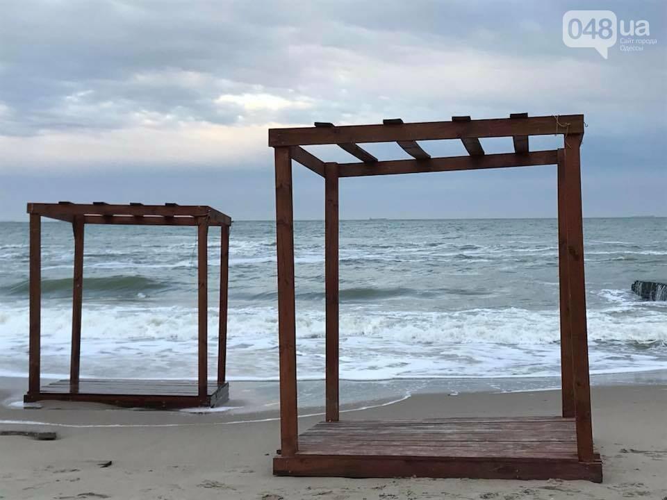 Красота: Море, небо и геометрия на одесском пляже (ФОТО) , фото-6