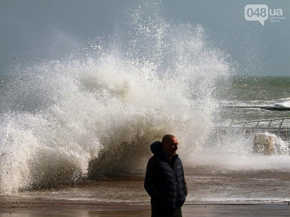 Мощный первоапрельский шторм попал в объектив одесского фотографа (ФОТО), фото-9