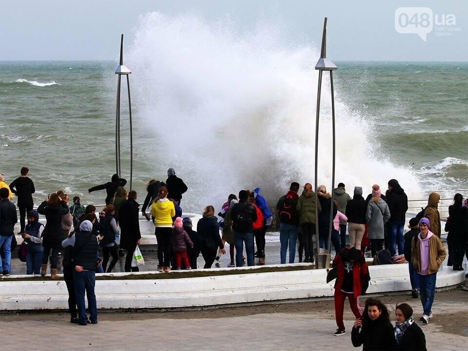 Мощный первоапрельский шторм попал в объектив одесского фотографа (ФОТО), фото-2
