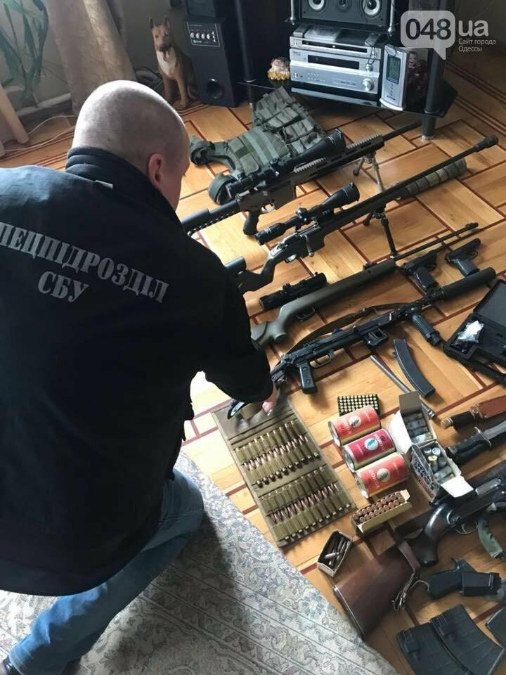 Для провокаций в Одессе злоумышленники приготовили большой арсенал оружия (ФОТО), фото-6