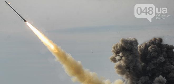 Под Одессой испытывают ракету, от которой в России паника, фото-1