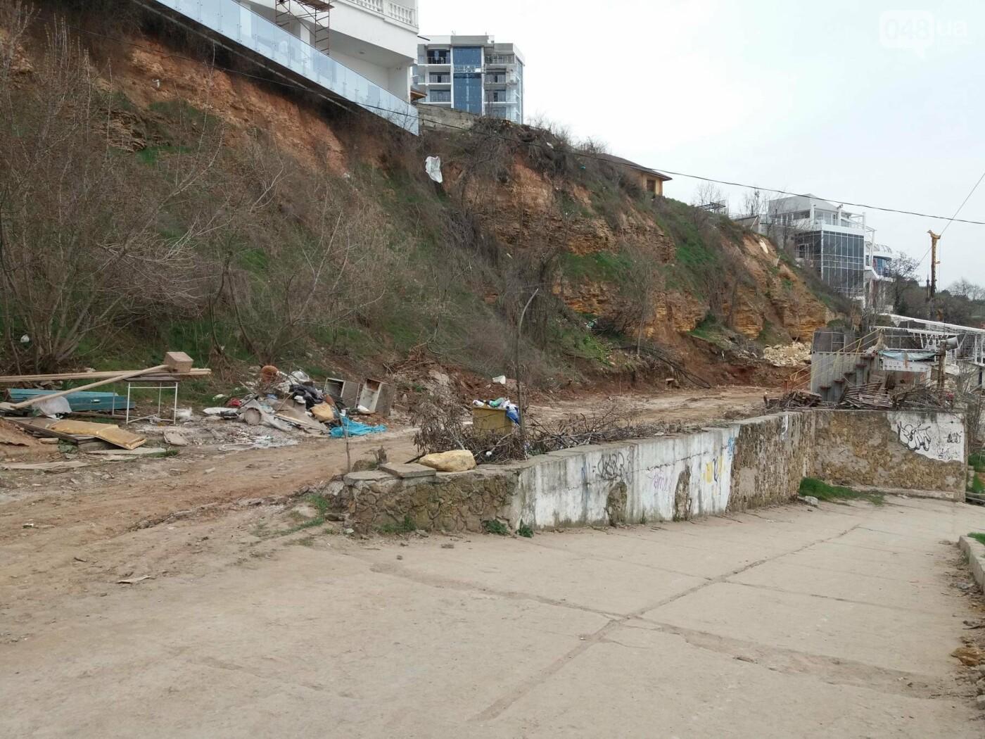 «Работы» на одесском Фонтане выглядят хуже стихийного бедствия (ФОТО, ВИДЕО) , фото-7