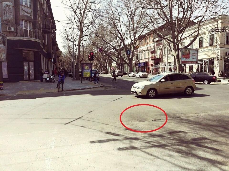 В центре Одессы найдена яма: дна не видно (ФОТОФАКТ) , фото-1