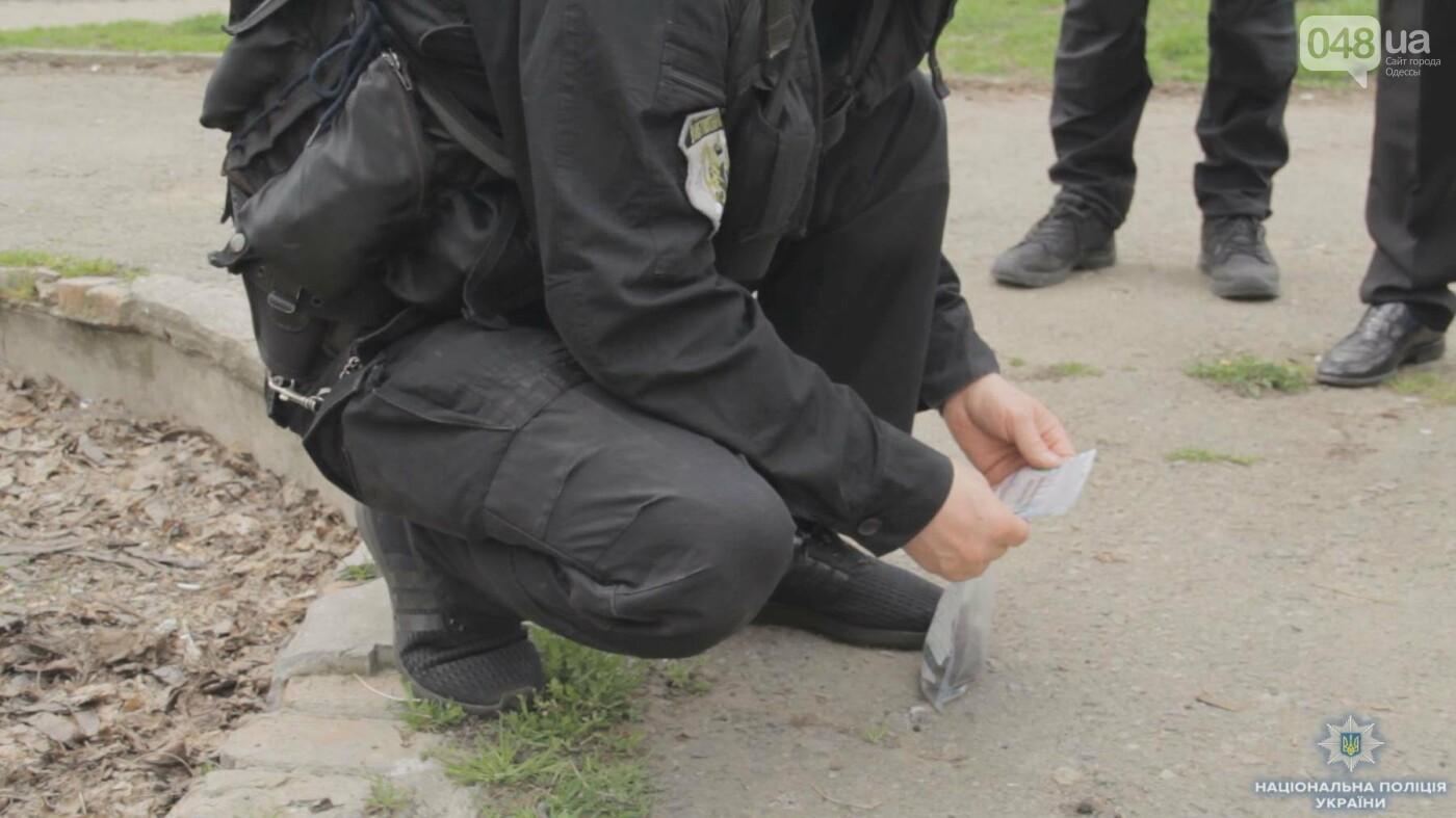 Рядом с конечной маршруток в Одессе нашли гранату (ФОТО, ВИДЕО), фото-1