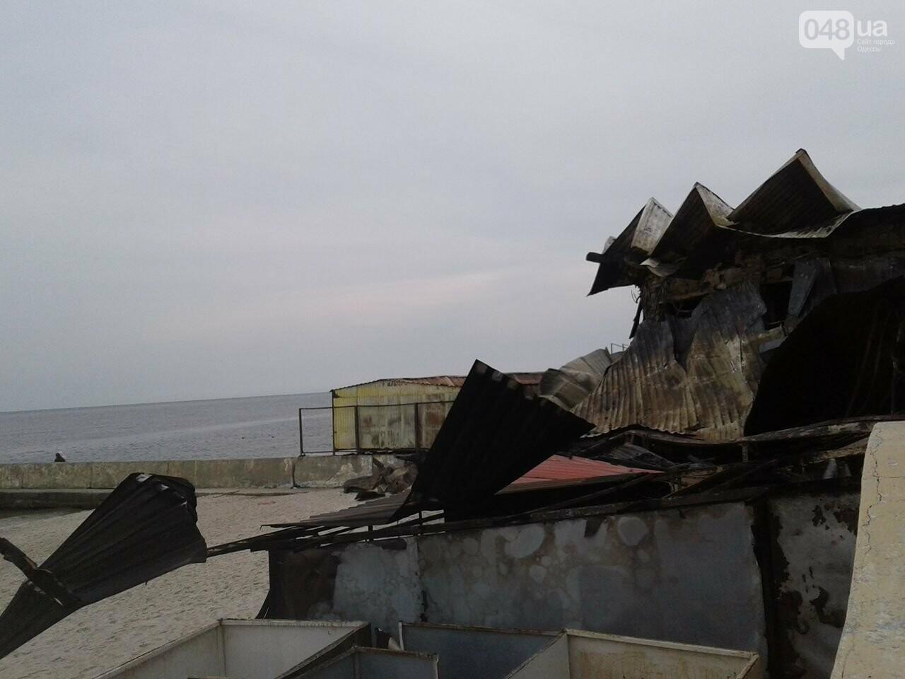 """Как сегодня выглядит сгоревший """"Песок"""" на одесском пляже (ФОТО), фото-4"""