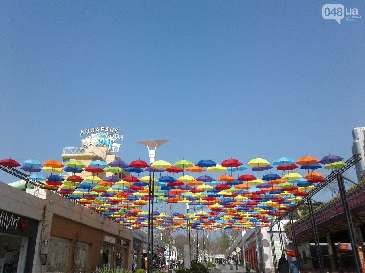Одесскую Аркадию украсили разноцветные зонты: приходи фотографироваться (ФОТО), фото-2