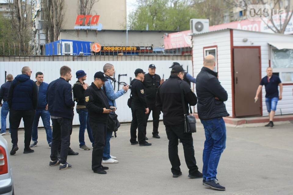 В Одессе активисты разгромили газовую заправку (ФОТО), фото-6