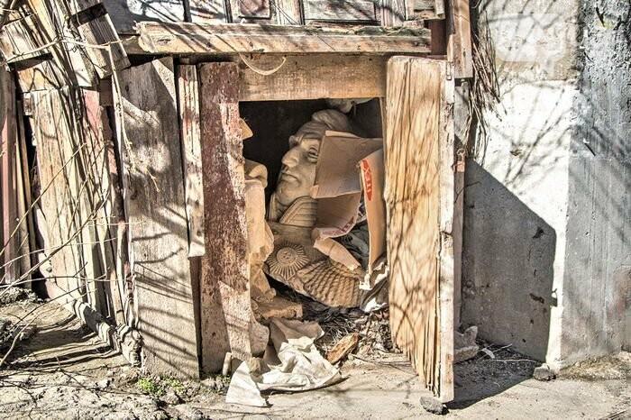 В Одессе бюст де Воллана нашли в сарае (ФОТО), фото-1