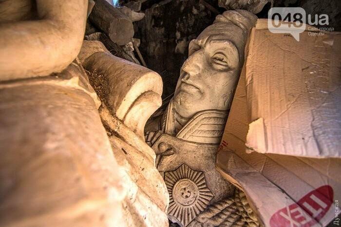 В Одессе бюст де Воллана нашли в сарае (ФОТО), фото-2