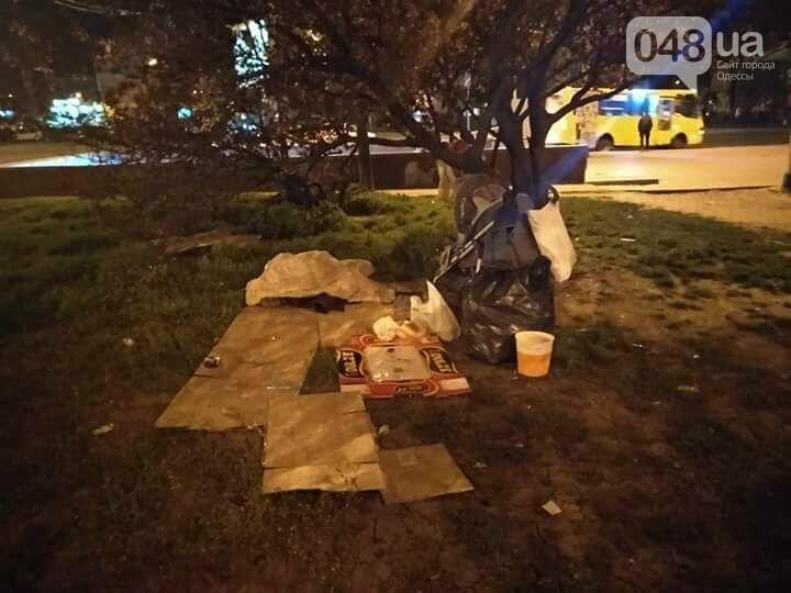 У одесского вокзала среди ночи нашли коляску с ребенком (ФОТО), фото-1