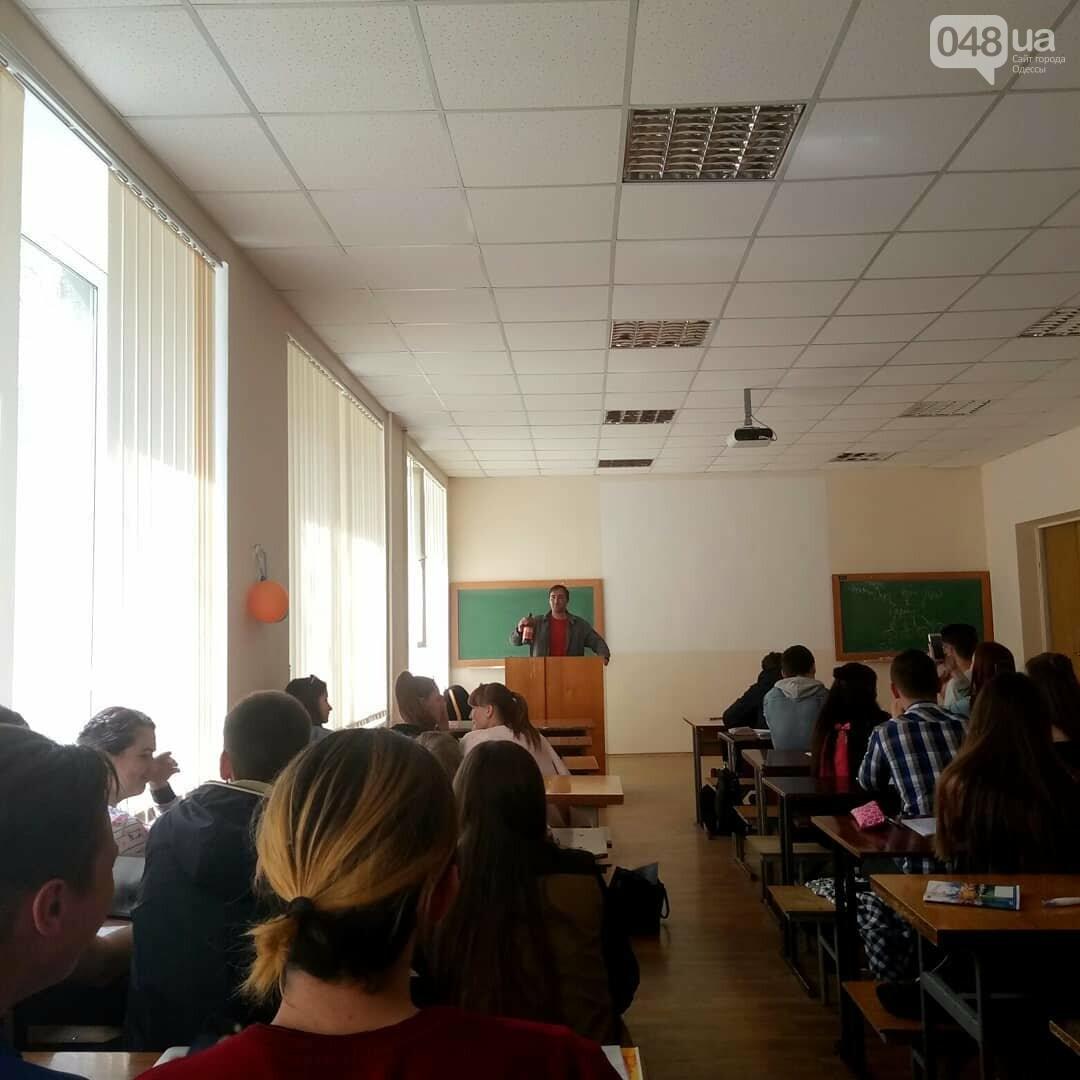 Погромче, на всю аудиторию! В Одесском политехе пьяный мужчина сорвал занятия (ВИДЕО, ФОТО), фото-2