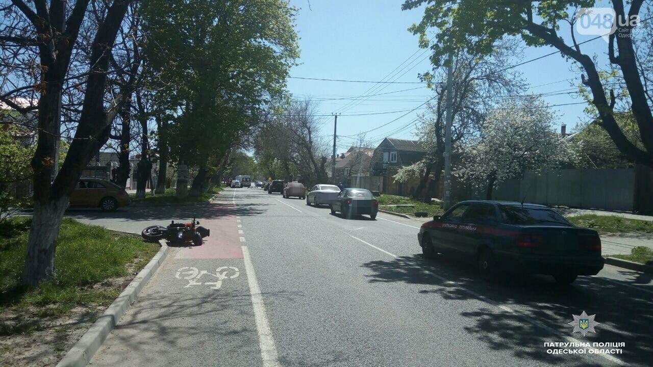 На одесском Фонтане насмерть разбился мотоциклист (ФОТО), фото-1