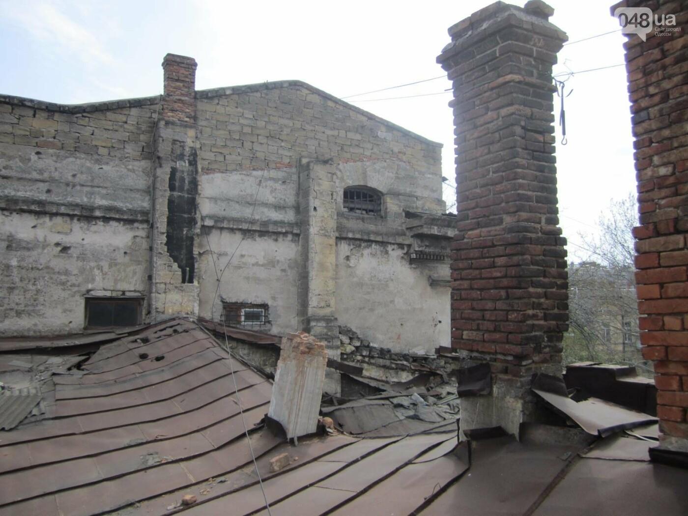 Отчаянные одесситы забрались на крышу дома Гоголя и показали настоящий треш (ФОТО), фото-8