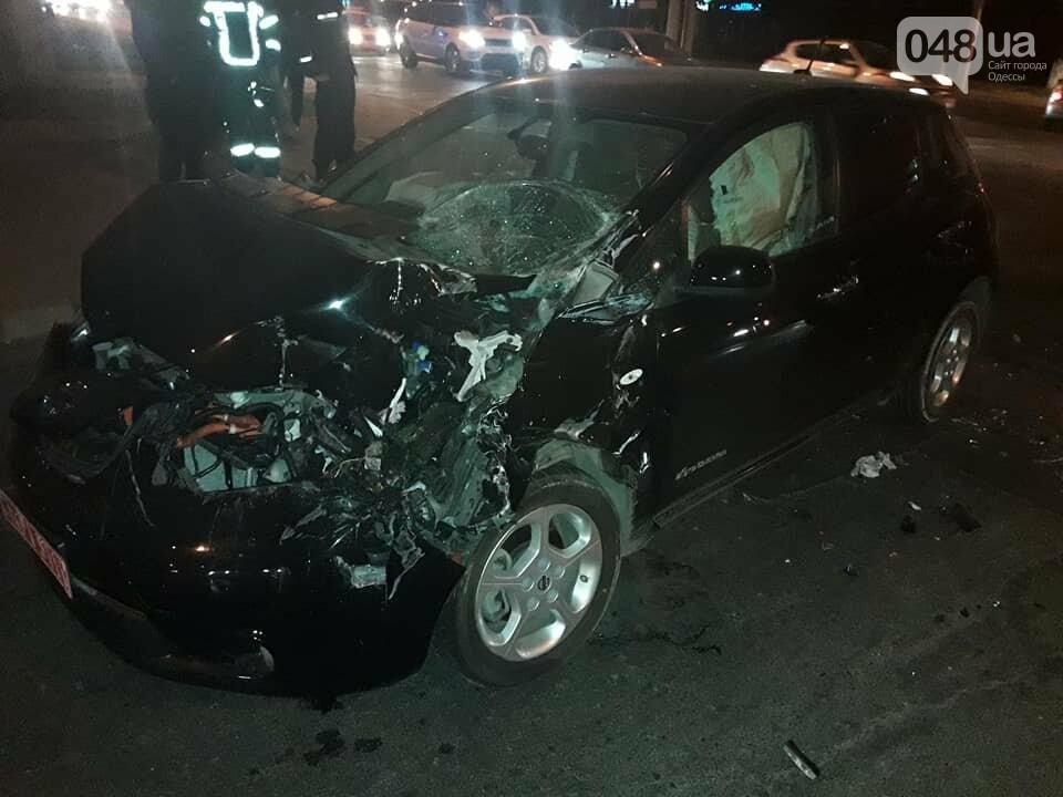 В Одессе пожарная машина протаранила электромобиль: Смотри, что получилось (ФОТО), фото-2
