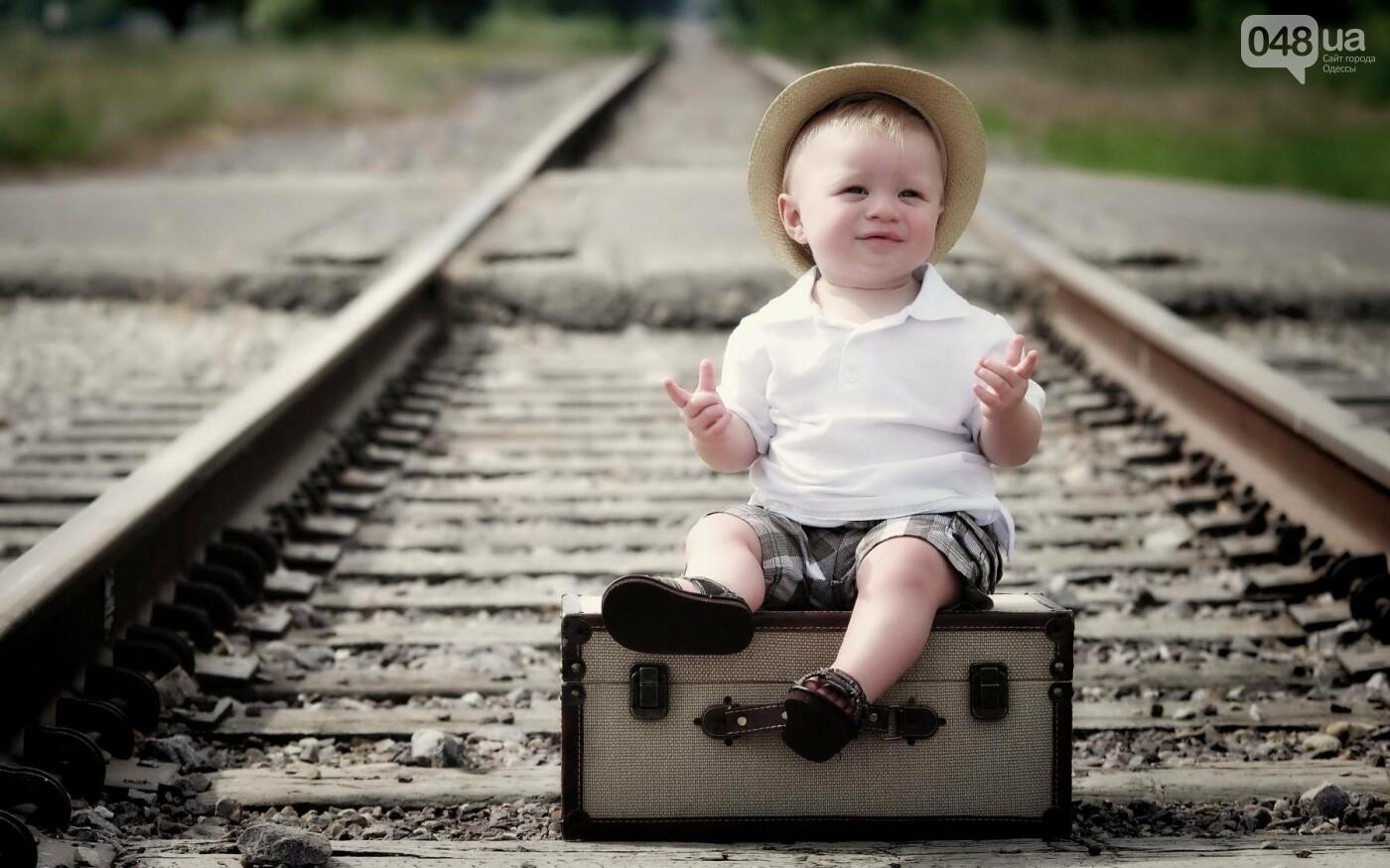 В Одесской области 4-летнего малыша нашли около железнодорожных путей, фото-1