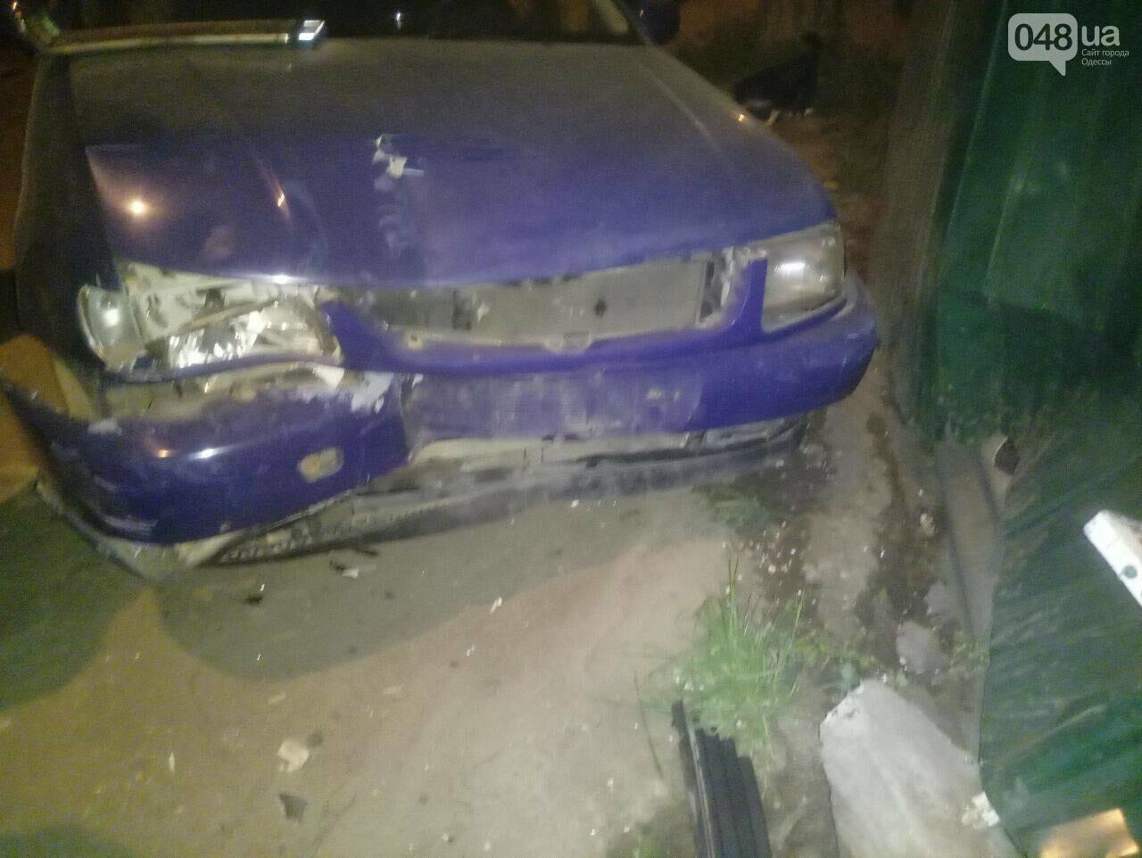 В Одесе угнанное с СТО авто попало в разрушительную аварию (ФОТО), фото-1