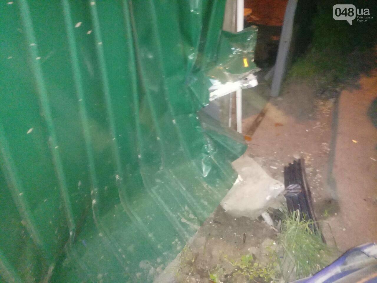 В Одесе угнанное с СТО авто попало в разрушительную аварию (ФОТО), фото-3