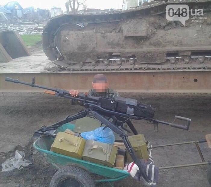 Под Одессой задержали боевика-террориста (ФОТО), фото-1