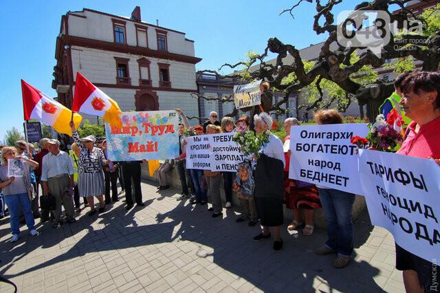 Агрессивная сторонница «русского мира» гонялась за полицейскими с древком от флага: старушку поймали, древко отобрали (ФОТО) , фото-6