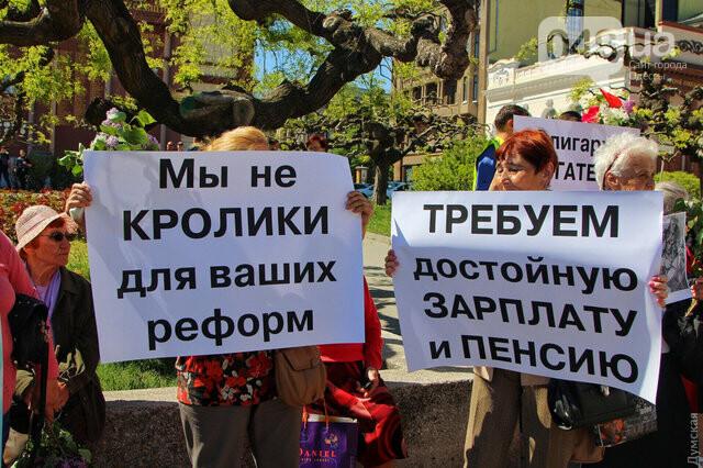 Агрессивная сторонница «русского мира» гонялась за полицейскими с древком от флага: старушку поймали, древко отобрали (ФОТО) , фото-4