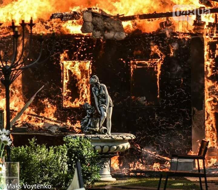 Сгоревшее в Одессе кафе работало с вопиющими нарушениями пожарной безопасности (ФОТО), фото-1