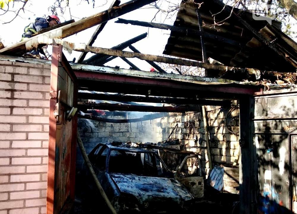 В Одесской области внедорожник сгорел вместе с гаражом (ФОТО), фото-2