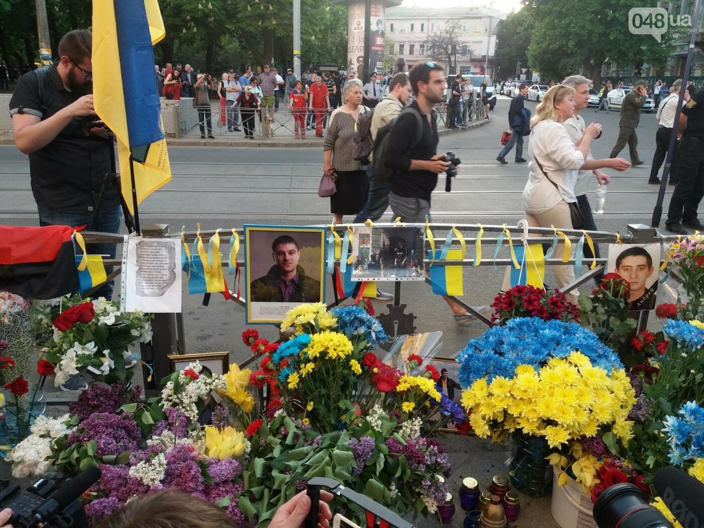 Как Одесса пережила 4-ю годовщину 2 мая: хронология событий (ФОТО, ВИДЕО), фото-40