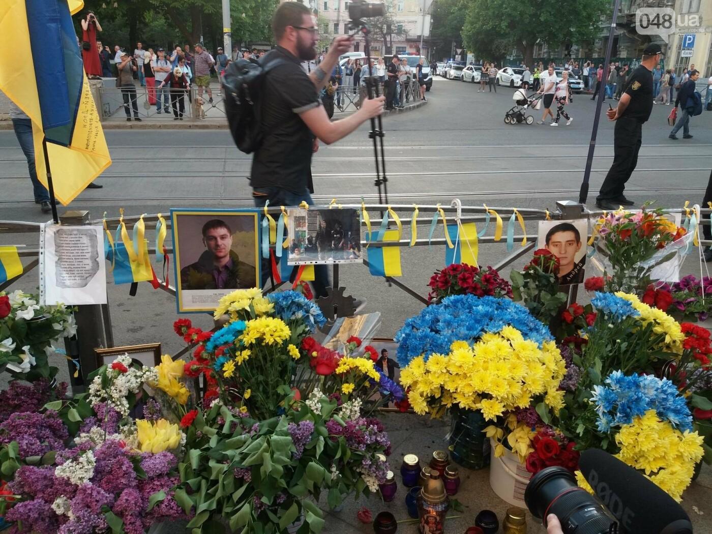 Как Одесса пережила 4-ю годовщину 2 мая: хронология событий (ФОТО, ВИДЕО), фото-41