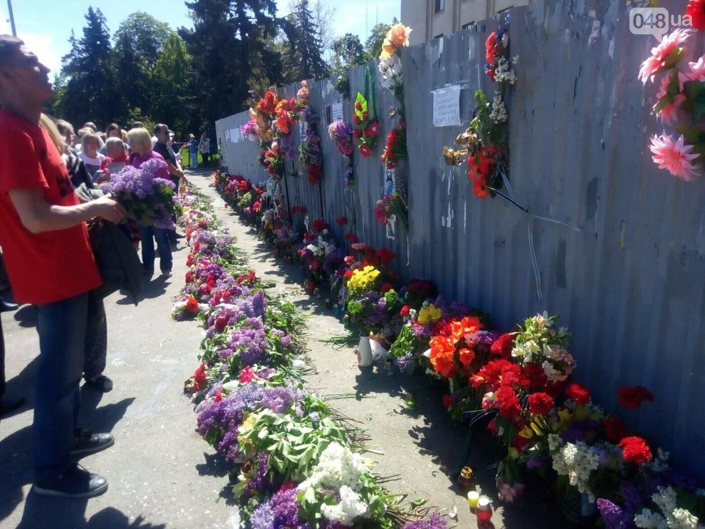 Как Одесса пережила 4-ю годовщину 2 мая: хронология событий (ФОТО, ВИДЕО), фото-14