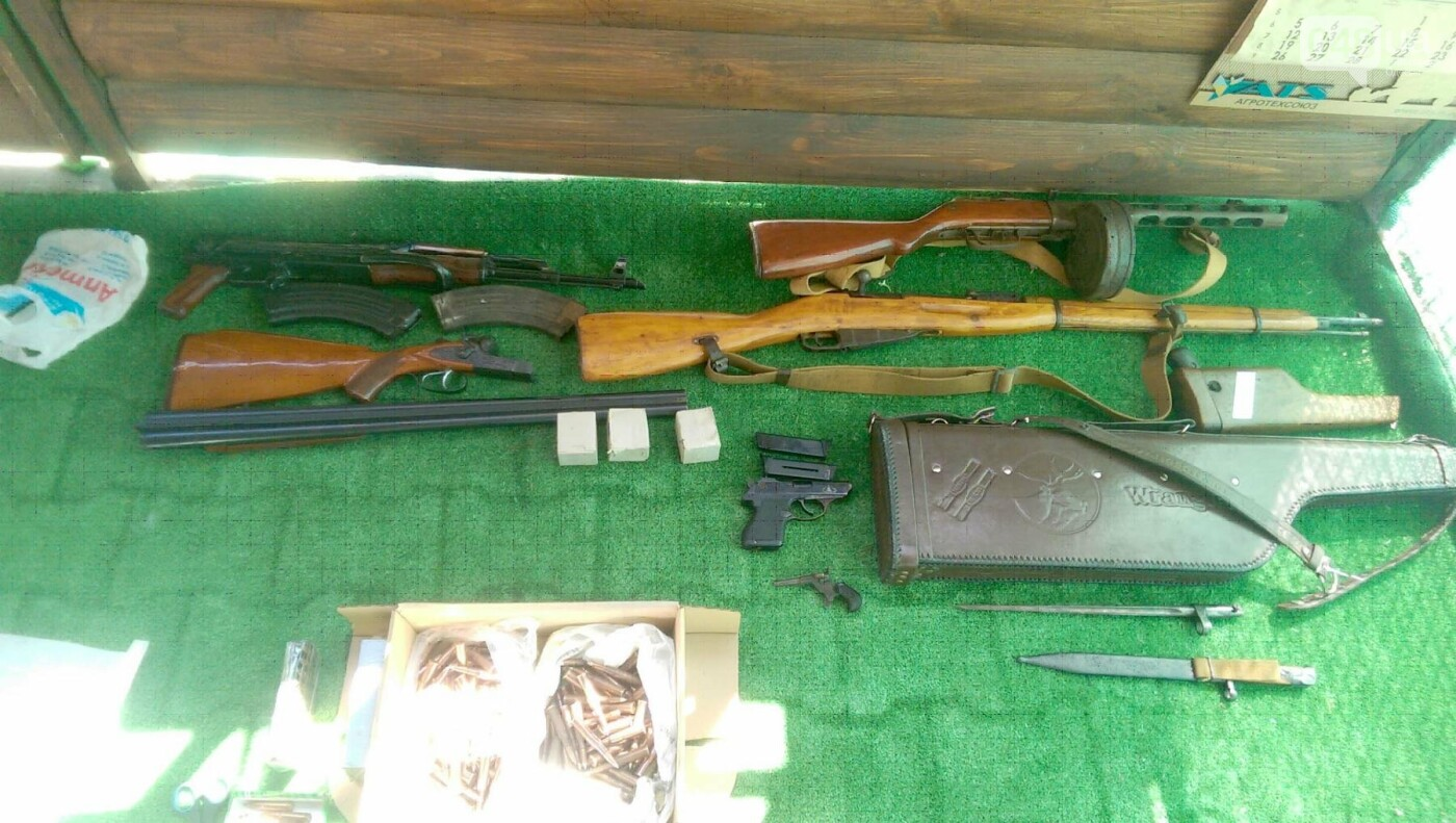 Арсенал огнестрельного оружия выявили и изъяли одесские правоохранители (ФОТО), фото-2