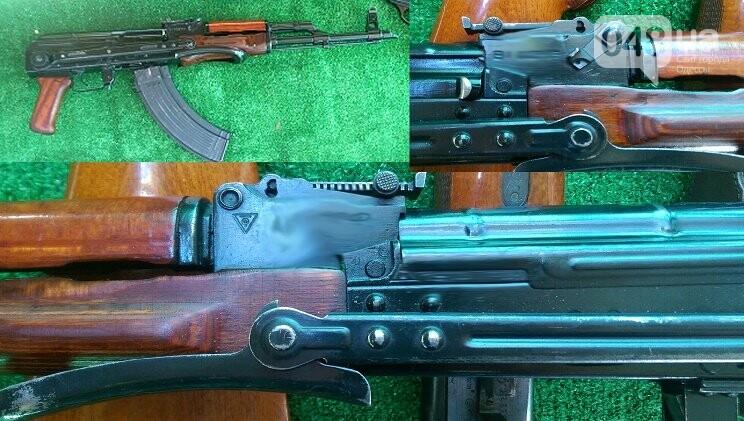 Арсенал огнестрельного оружия выявили и изъяли одесские правоохранители (ФОТО), фото-1