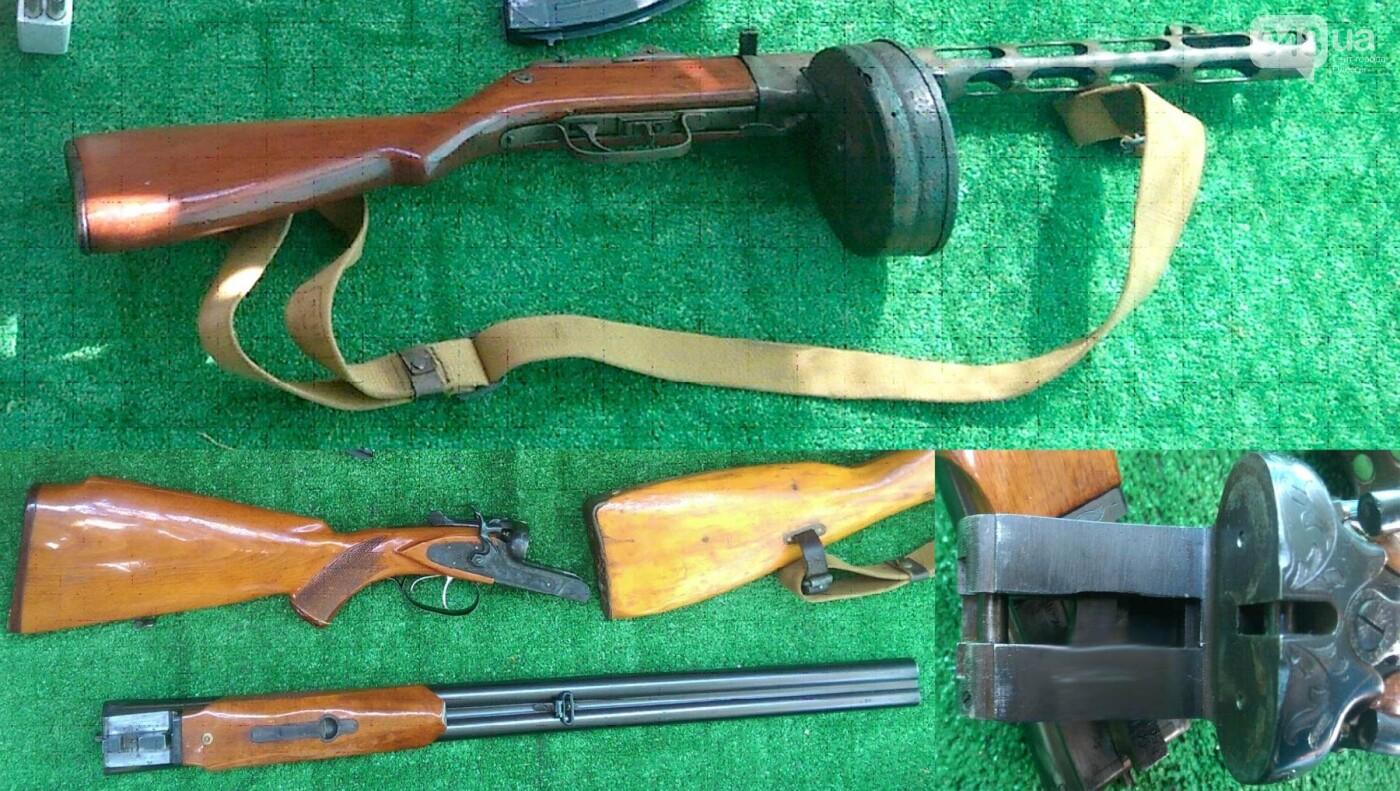 Арсенал огнестрельного оружия выявили и изъяли одесские правоохранители (ФОТО), фото-5