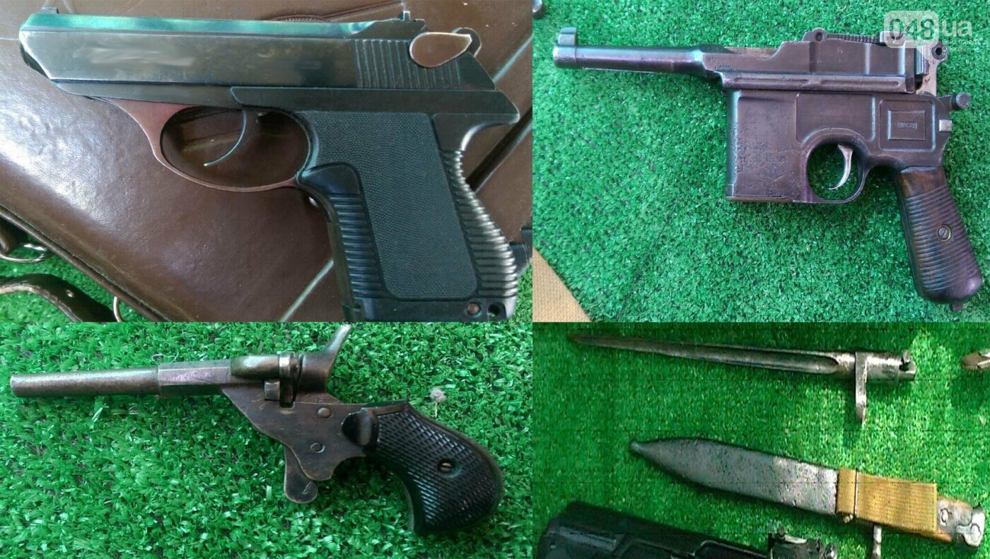 Арсенал огнестрельного оружия выявили и изъяли одесские правоохранители (ФОТО), фото-4