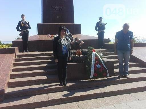 Одесский горсовет рассказал, как встречал делегацию ветеранов из воевавшей на стороне Германии страны (ФОТО)  , фото-4