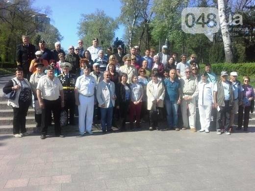 Одесский горсовет рассказал, как встречал делегацию ветеранов из воевавшей на стороне Германии страны (ФОТО)  , фото-5
