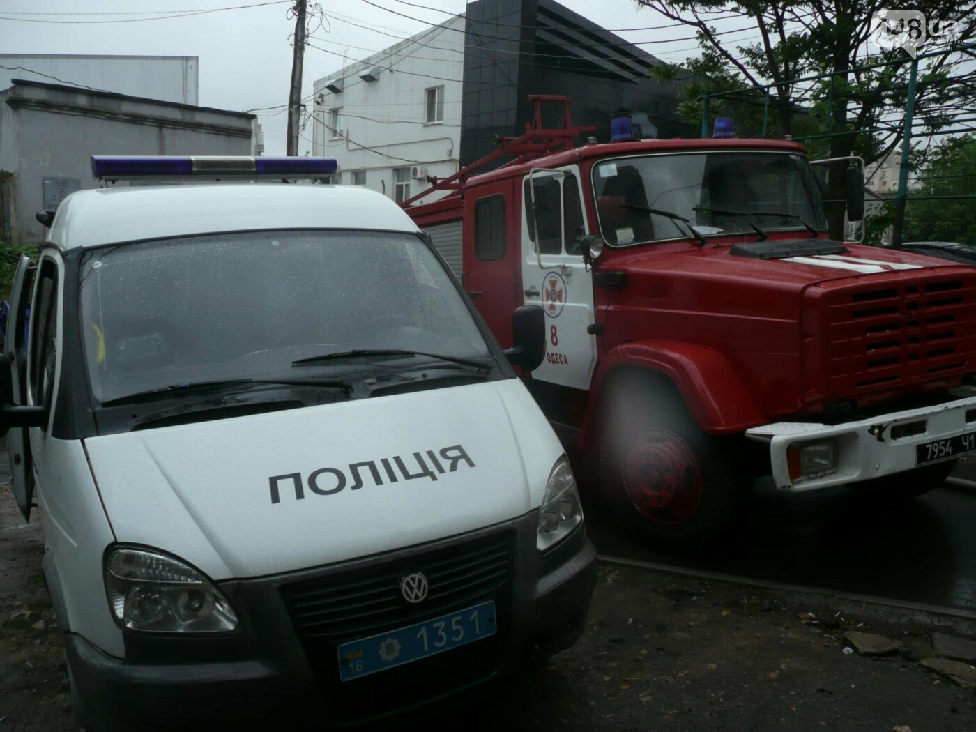 В Одессе в результате взрыва в здании обгорел мужчина, - ФОТО , фото-2